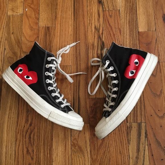 9d09cf51e00394 Comme des Garcons Other - Commes Des Garcons Play x Converse Sneakers